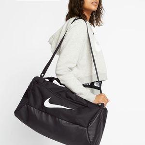 NIKE Training Black Duffle Bag Small